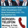 Bürgertelefon am 6. Februar