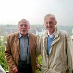 Georg F. Neubauer (Stade) und Dr. Wilhelm Ebendorff (Osterburg-Havelberg), Unterzeichner der Partnerschaftsurkunde 2008