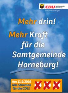 Kommunalwahl Horneburg