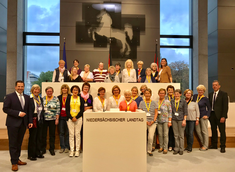 Besuch der Frauen Union im Niedersächsischen Landtag