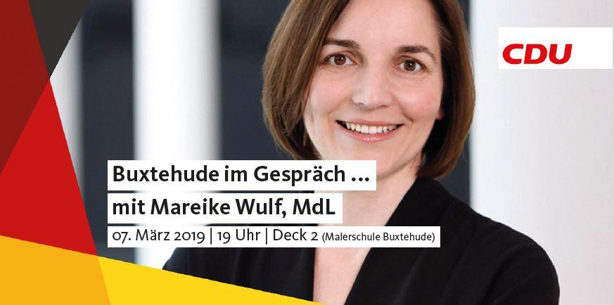 Buxtehude im Gespräch mit Mareike Wulf, MdL