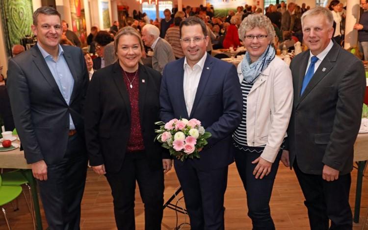 Matthias Steffen, Melanie Rost, Kai Seefried, Silja Köpcke, Jürgen Deden (v.l.n.r)