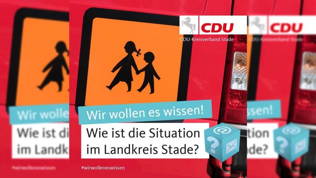 CDU kümmert sich um volle Schulbusse