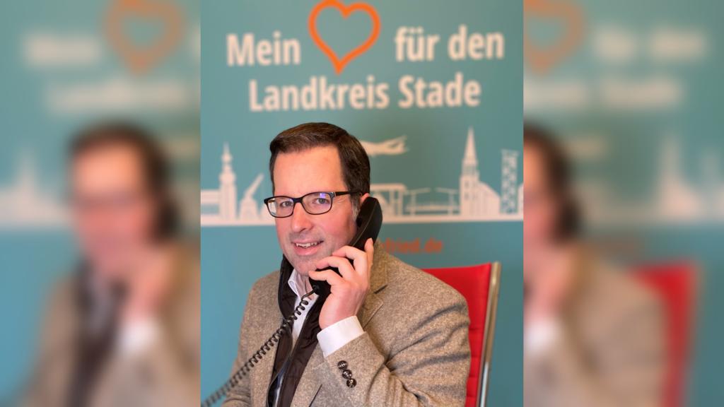 Kai Seefried am Bürgertelefon