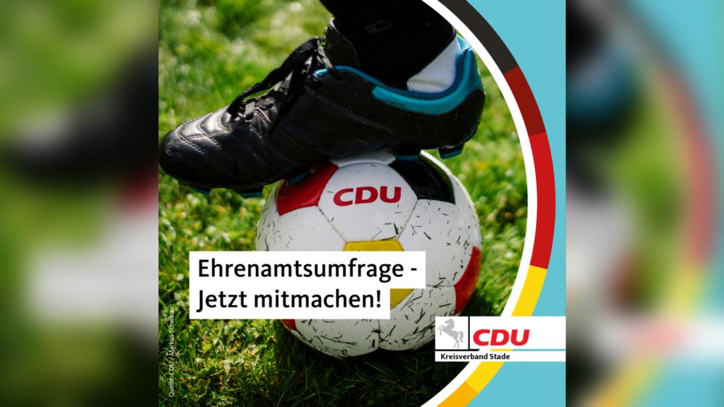Ehrenamtsumfrage: Seefried und Dammann-Tamke rufen zum Mitmachen auf!