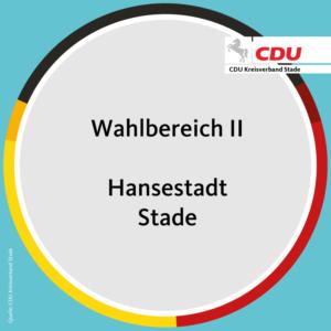 Wahlbereich II – Hansestadt Stade