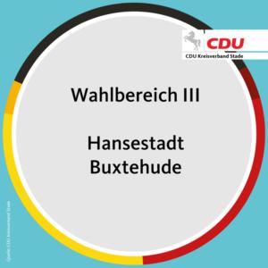 Wahlbereich III – Hansestadt Buxtehude
