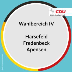 Wahlbereich IV – Harsefeld/Fredenbeck/Apensen